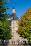 Nederlands kasteel Heemstede stock afbeelding