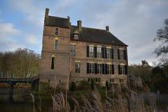 Nederlands kasteel Vorden stock afbeelding