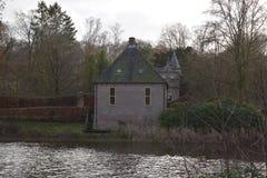 Nederlands kasteel Vorden stock afbeeldingen