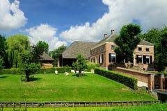 Nederlands landbouwbedrijf royalty-vrije stock foto's