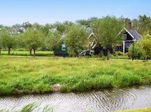 Nederlands landschap royalty-vrije stock foto