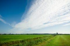 Nederlands landschap royalty-vrije stock afbeeldingen