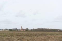 Nederlands landschap Royalty-vrije Stock Foto's