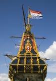Nederlands lang schip 6 Stock Foto's