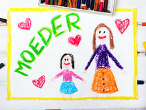 Nederlands Mother's Day Royalty Free Stock Photo