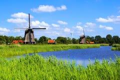 Nederlands platteland Stock Foto's