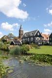 Nederlands Platteland Royalty-vrije Stock Foto