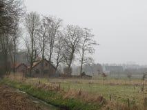 Nederlandse architectuur Stock Afbeeldingen