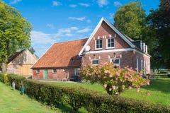 Nederlandse boerderij Royalty-vrije Stock Foto's