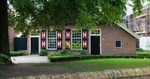 Nederlandse boerderij Stock Foto's