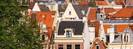 Nederlandse Daken Stock Fotografie