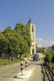 Nederlandse dorpsscène Stock Foto