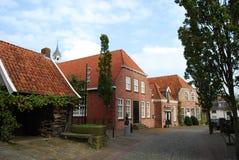 Nederlandse dorpsscène Stock Fotografie