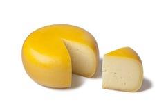 Nederlandse Goudse kaas Stock Afbeelding