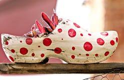 Nederlandse houten schoenpot Royalty-vrije Stock Foto