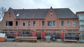 Nederlandse huisvesting Stock Foto's