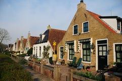 Nederlandse huizen Royalty-vrije Stock Afbeelding