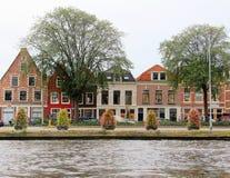 Nederlandse huizen Royalty-vrije Stock Fotografie