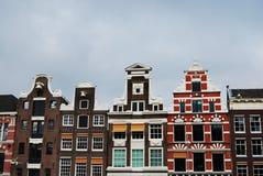 Nederlandse huizen Royalty-vrije Stock Foto's