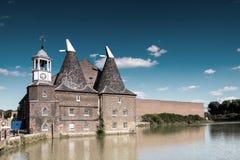 Nederlandse katoenen fabriek Royalty-vrije Stock Afbeeldingen