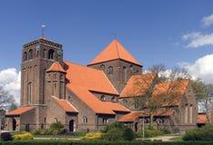 Nederlandse kerk Stock Afbeeldingen