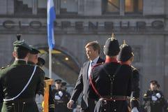 Nederlandse Koning Willem-Alexander Royalty-vrije Stock Fotografie