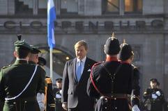 Nederlandse Koning Willem-Alexander Royalty-vrije Stock Foto