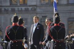 Nederlandse Koning Willem-Alexander Royalty-vrije Stock Afbeelding