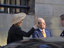 Nederlandse koningin Maxima Stock Foto
