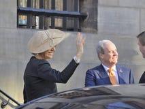 Nederlandse koningin Maxima Stock Afbeeldingen