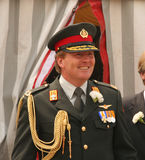 Nederlandse Kroonprins Willem-Alexander Stock Afbeelding
