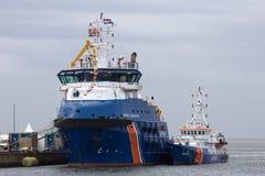 Nederlandse kustwacht Stock Afbeelding
