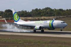 Nederlandse Luchtvaartlijn Transavia 737 Stock Foto