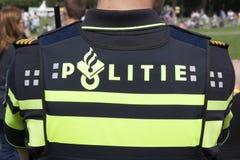 Nederlandse politieman Stock Afbeeldingen