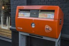 Nederlandse Postbus royalty-vrije stock fotografie