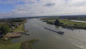 Nederlandse rivier Stock Afbeeldingen