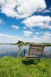 Nederlandse rivier Eem Royalty-vrije Stock Fotografie