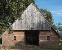 Nederlandse schuilplaats in Overijssel royalty-vrije stock foto