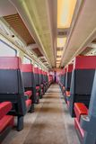 NS train inside entrance to the train car first class Stock Photography