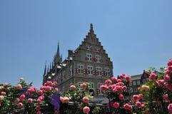 Nederlandse stijlkerk Stock Foto