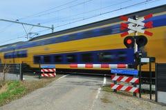 Nederlandse trein Stock Afbeeldingen
