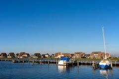 Nederlandse vakantiehuizen royalty-vrije stock foto's