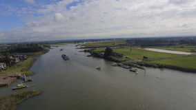 Nederlandse veerboot stock afbeelding