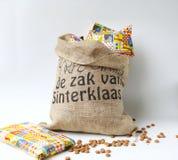 Nederlandse viering Sinterklaas Stock Foto's