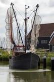 Nederlandse Vissersboot - Nederland Stock Fotografie