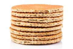Nederlandse wafel Royalty-vrije Stock Afbeelding