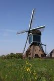 Nederlandse windmolen Royalty-vrije Stock Fotografie
