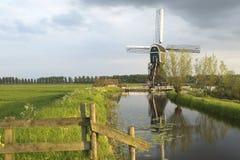Nederlandse Windmolen 2 Stock Foto