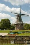 Nederlandse windmolen Royalty-vrije Stock Foto's