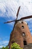 Nederlandse windmolen van 1765, behoord tot de prominente Pomeranian-families stock afbeeldingen